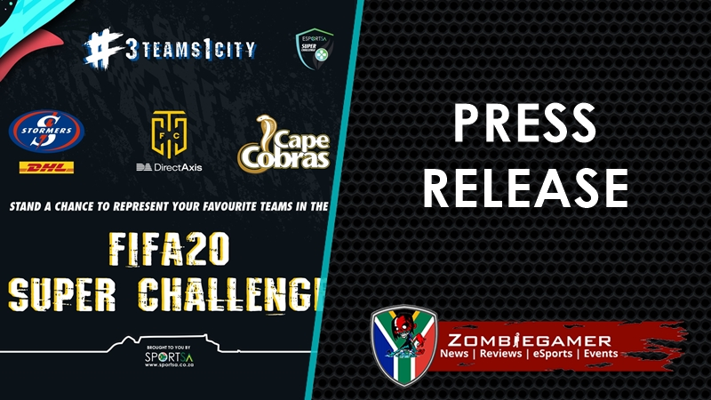 Press Release | Top Cape Town Sports Teams to Compete in Upcoming Esports Competition